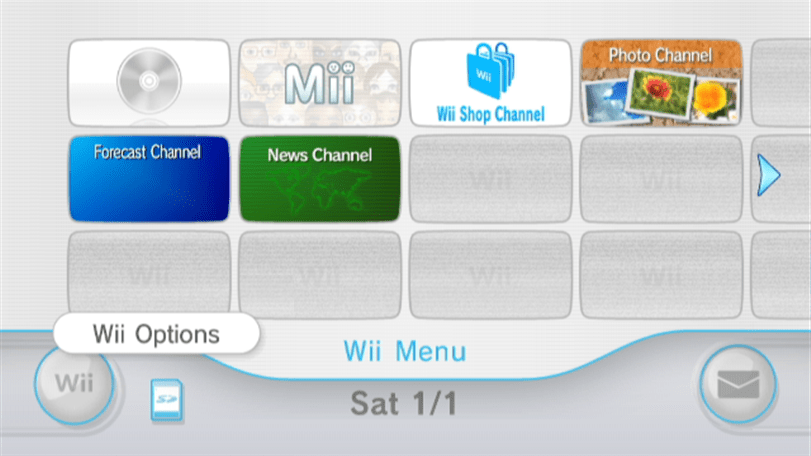 Wii Options