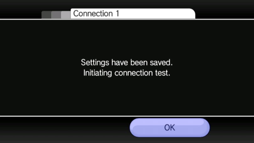 Connection Test