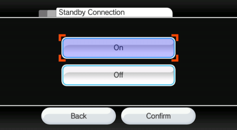 Standby Connection 2