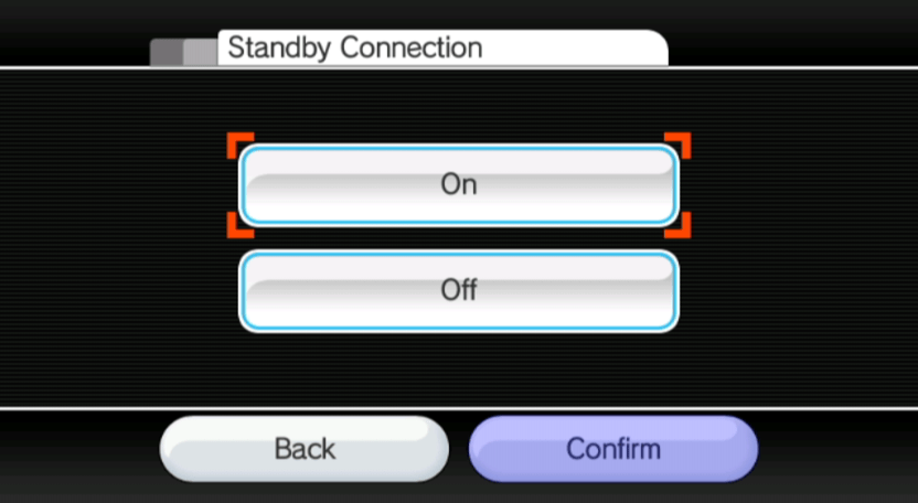 Standby Connection 3