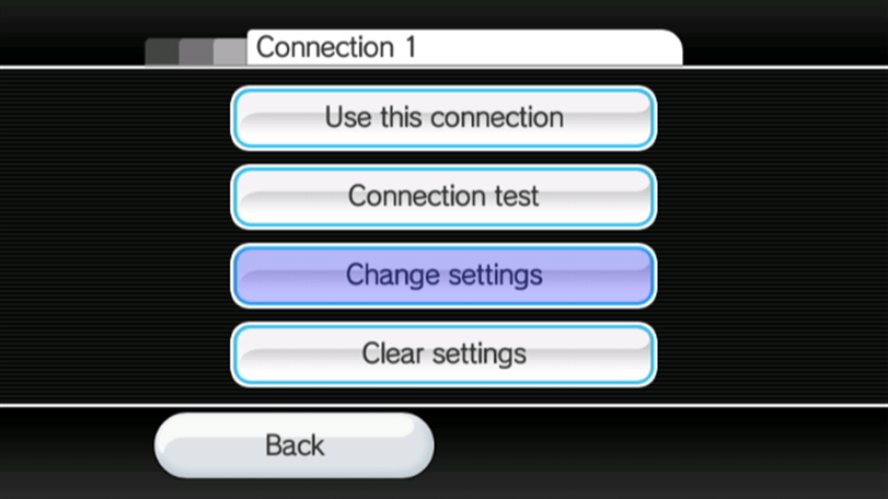 Change Settings